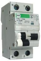Автоматический выключатель защитного отключения (EVO) АЗВ-2 (6кА) C16A/0,03
