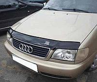 Мухобойка +на капот  AUDI A6 (кузов 4А,С4) с 1994-1997 г.в. (Ауди А6) Vip Tuning