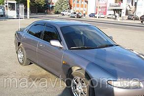 Дефлекторы стекол Mazda Xedos 6 1994-2000 (Мазда кседос) Cobra Tuning