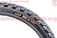 """Шипованная шина для велосипеда подросткового 20""""x1,95 без камеры шипованная MTB C1212"""