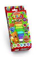 Тесто для лепки Master Do коробка 10 цветов (TMD-02-02)