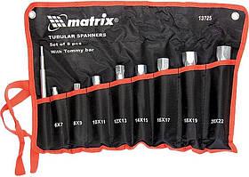 Набор ключей трубчатых торцевых 9 предметов 6-22 мм Mtx 13725