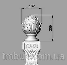 Заходной столб 22 - 1100х172х172 мм, фото 3