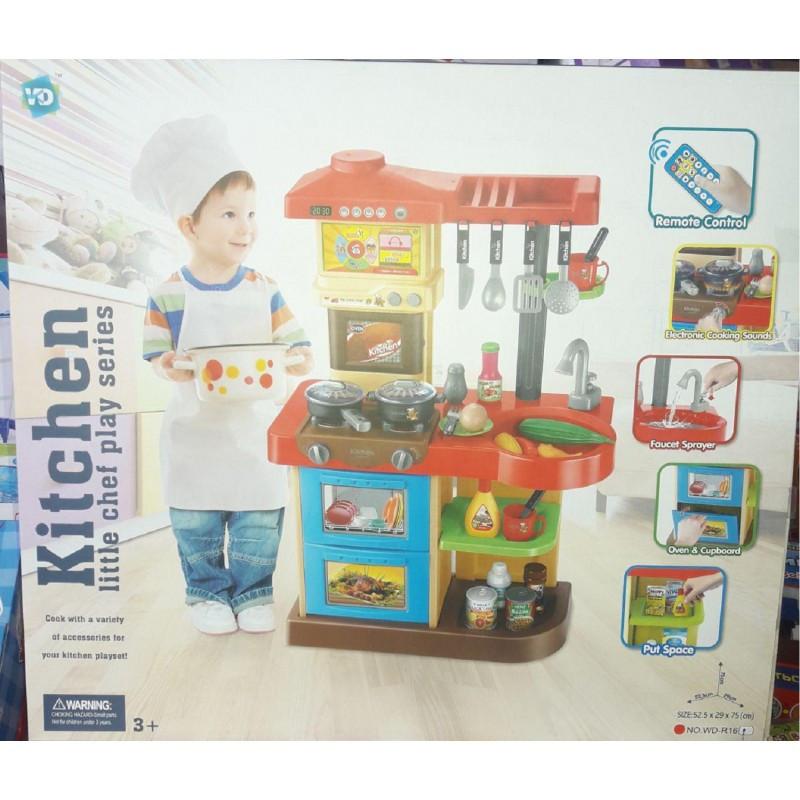 Детская кухня игровая Kitchen WD-P16-R16 2 вида
