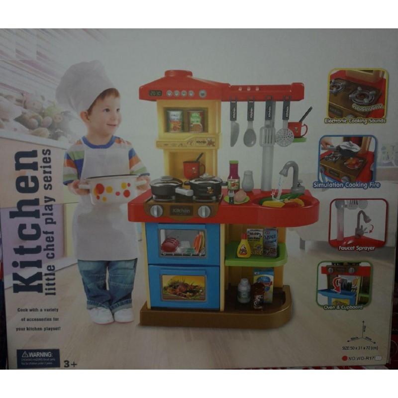 Детская кухня игровая Kitchen WD-P17-R17 2 вида