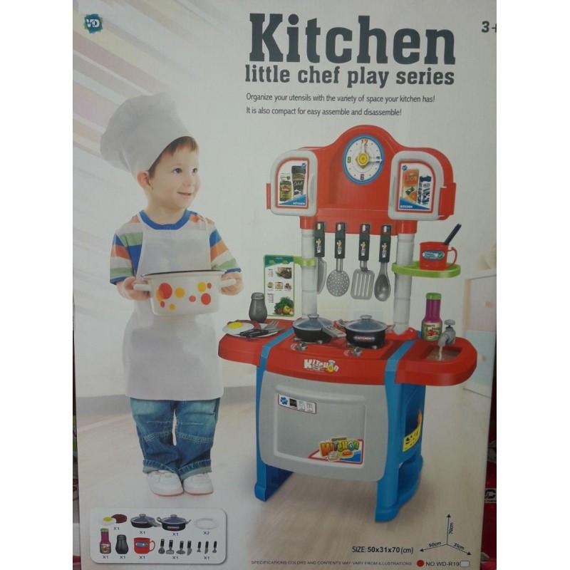 Детская кухня игровая Kitchen WD-P19-R19 2 вида