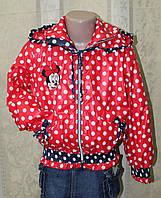 Курточка ветровка для девочки. , фото 1