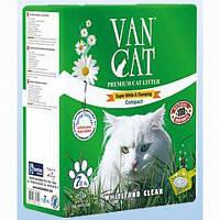 Наповнювач Van cat Ван кет бентонітовий грудкуючийся для котячого туалету Ультра 7л