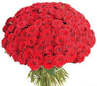 """Букет из красных роз """"101 Роза"""""""