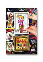 Набор Картины карандашами по номерам 10 видов маленькая Danko Toys