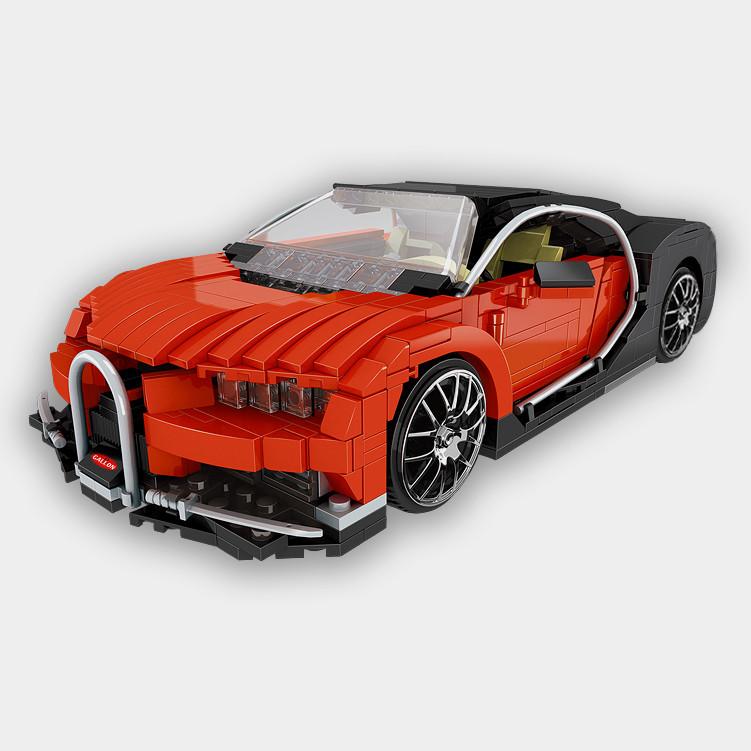 Новейший детский конструктор Xingbao Bugatti на 859 деталей