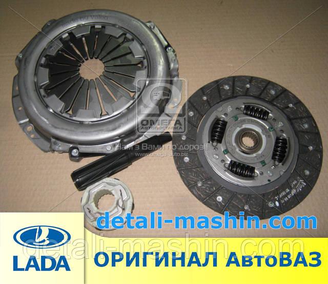 Комплект зчеплення 2123 Нива-Шевроле (диск натиск.+зед.+подш.) Valeo (пр-во АВТОВАЗ) 2123-1601130