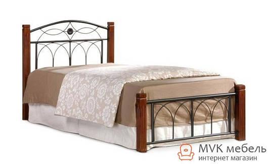 Кровать односпальная Миранда-90 М (каштан)