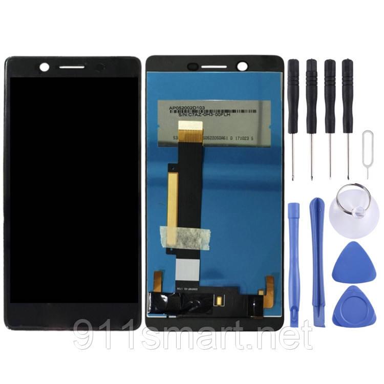 Дисплейный модуль, экран Nokia 7 черный