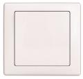 Выключатель 1-кл., белый, Wega
