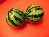 Мячик арбузик 16 см