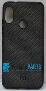 Оригинальный Силиконовый Чехол для Xiaomi Redmi 6 Pro Silicone Case (Темно-Серый)