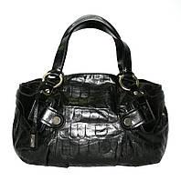 Женская сумка из высококачественной натуральной кожи Lloyd oryginal чёрная (Германия) L750.01