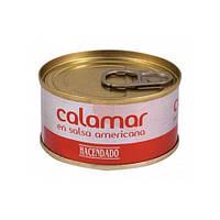 Кальмар Hacendado в пикантном томатном соусе 80 г
