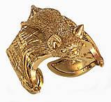 Кольцо мужское серебряное Летучая мышь 212 800, фото 4