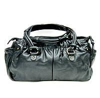 Женская сумка из высококачественной натуральной кожи Lloyd oryginal чёрная (Германия) L602.01
