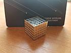 Неокуб NeoCube Тетракуб [Кубик 3х3х3мм * 216 кубиков] + Металлическая Коробка в Подарок, фото 2