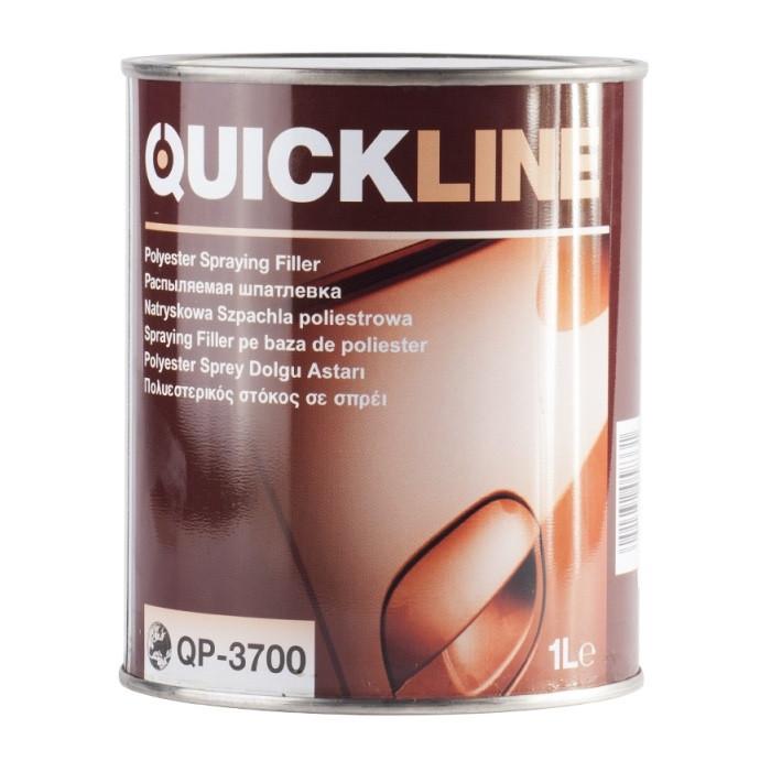 Жидкая полиэфирная шпаклевка Quickline (Spray)