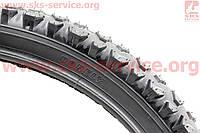 """Велорезина для подростковых велосипедов диаметром колес 20""""х2,125 без камеры шипованная P702"""