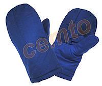 Рукавицы ватные зимние утепленные, рукавиці ватяні утеплені зимові, фото 1
