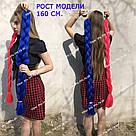 ❤️ Каникалон 100 см. ❤️ для брейд, кос и причёсок красный, фото 4