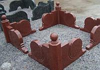 Оградка из гранита