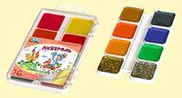 Акварель медовая Гамма-Н Сказочный мир 16 цветов