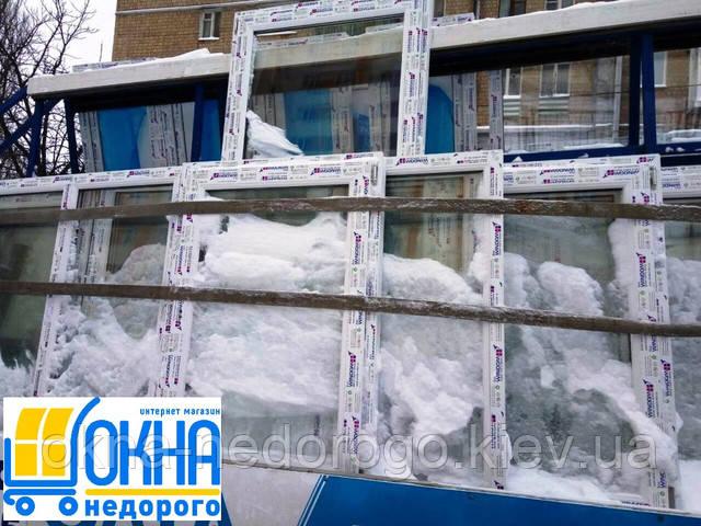 Доставка окон по Киеву и пригороду в любую погоду!