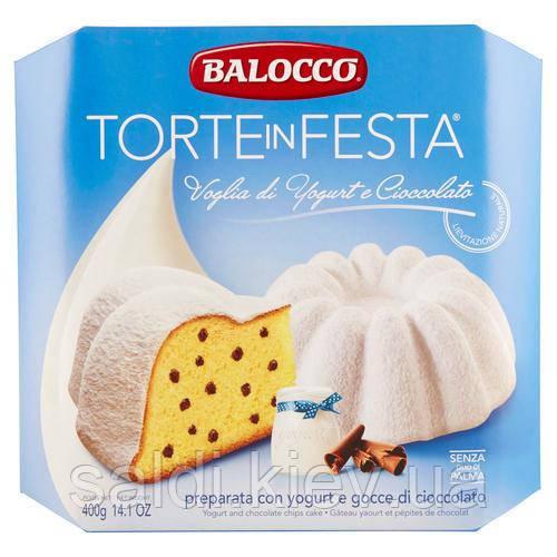 """Balocco: """"Voglia Di Yogurt E Cioccolato"""" Натуральний пиріг з йогуртом і шоколадом"""
