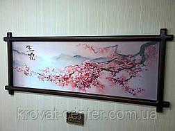 """Картина """"Ветка Сакуры"""" (венге), фото 3"""