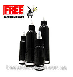 Тату фарба SOLID INK BLACK Grey LABEL Wash DARK 4 унц (120мл)