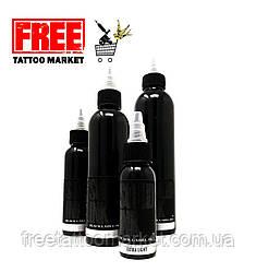 Тату фарба SOLID INK BLACK Grey LABEL Wash EXTRA LIGHT 4 унц (120мл)