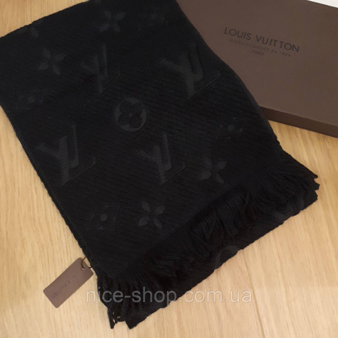 a1a7c3637e10 Шарф Louis Vuitton черный  продажа, цена в Одессе. шарфы от