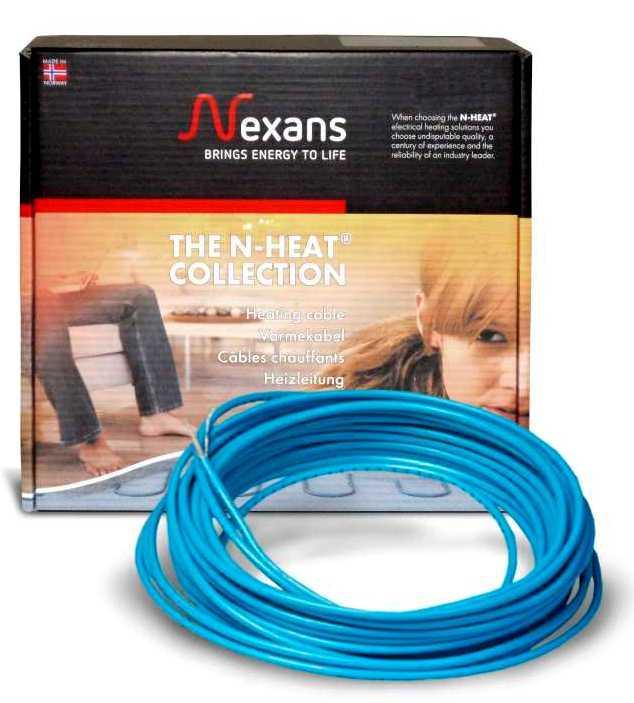 Теплый пол Nexans одножильный кабель