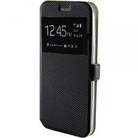 Чехол-книжка Modern Style с окном для Meizu Note 3 MX6 Black 335203, КОД: 136237