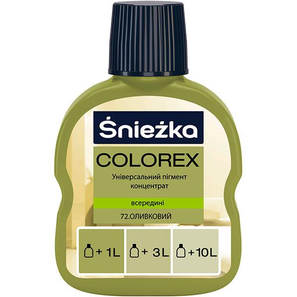 Пигмент Colorex №72 оливковый 100 мл