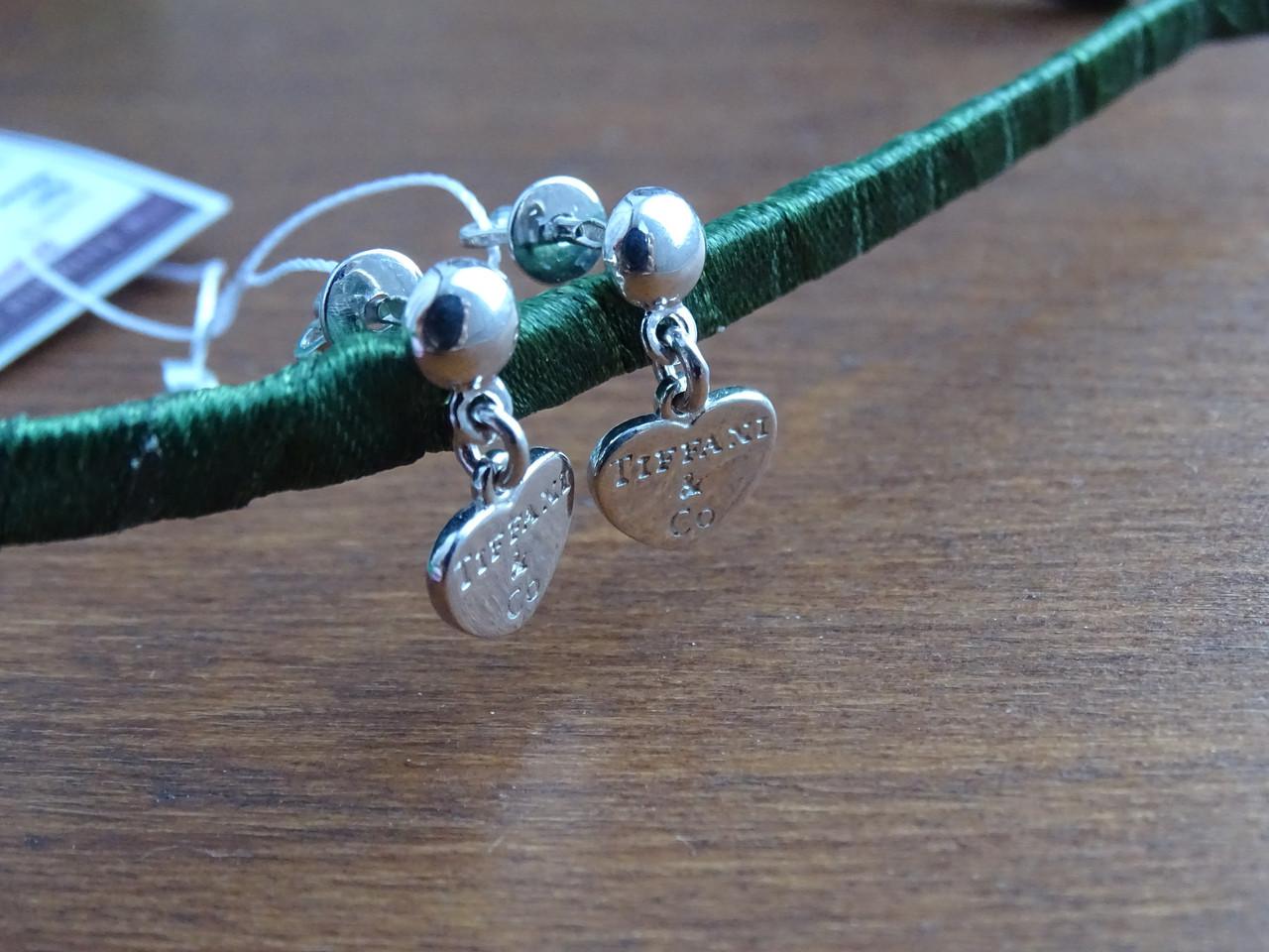 Серебряные гвоздики - пуссеты Тiffani