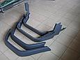 Розширювачі арок на Mercedes G-class W-463 (16 см) Скловолокно, фото 3