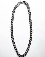 Чоловіча ланцюг зі срібла 55 см панцирні плетіння 114 грам
