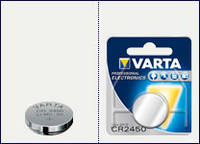 Батарейка Varta CR 2450 (lithium-литиевая)
