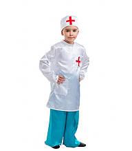 Врач, Доктор, Айболит костюм для новогоднего выступления детский возрастом от 4 до 9 лет