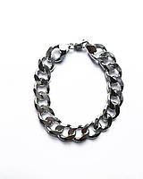 Чоловічий браслет зі срібла Beauty Jewels 23,5 см панцирні плетіння 62 грами