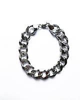 Мужской браслет из серебра 925 Beauty Bar на 22,5 см панцирное плетение 59,39  грамм