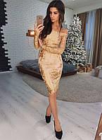 d176a62d304a Элегантное кружевное платье с открытыми плечами VL4232-1 M. Размер 44