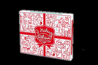 Набор из молочного шоколада «С Новым годом» 12 плиток OK-1047